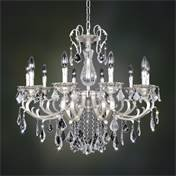Image of Allegri by Kalco Lighting 022151-017-FR001 Rafael 10 Light Chandelier in Two Ton