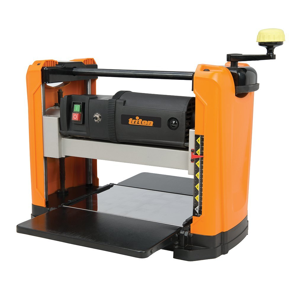 """Triton TPT125 High Performance Benchtop Planer with 12-1 2"""" Cutting Width by Triton"""