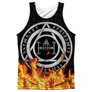 Constantine Flames Mens Sublimation Tank Top Shirt