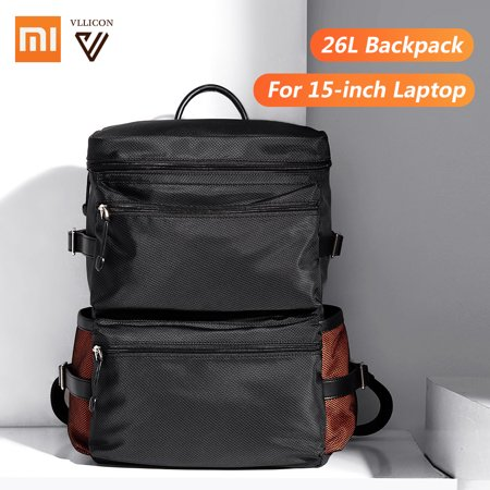 Xiaomi Mijia VLLICON Backpack 26L Big Capacity Classic Business Bag Students Laptop Bag Men Women Bags for 15-inch Laptop