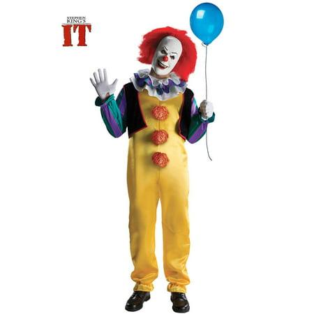 Pennywise Deluxe Mens Costume XL - Nerd Costume For Men