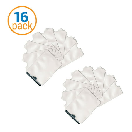 Pack Of 16 Rfid Safety Sleeves For Credit Card   Identity Theft Protection Sleeves