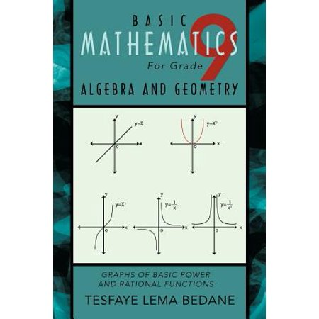 Basic Mathematics for Grade 9 Algebra and Geometry : Graphs of Basic Power and Rational - Graph Math