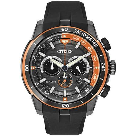 Men's Citizen Eco Drive Ecosphere Chronograph Watch CA4154-15E