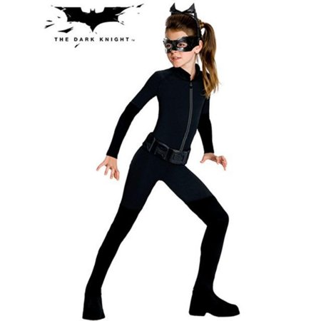 Girls Tween Catwoman Costume](Homemade Catwoman Halloween Costumes)