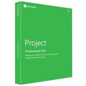 Microsoft Project 2016 Professional Box Pack 1 PC by Microsoft