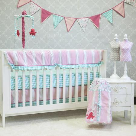 Pam Grace Creations Posh In Paris 10 Piece Crib Bedding Set