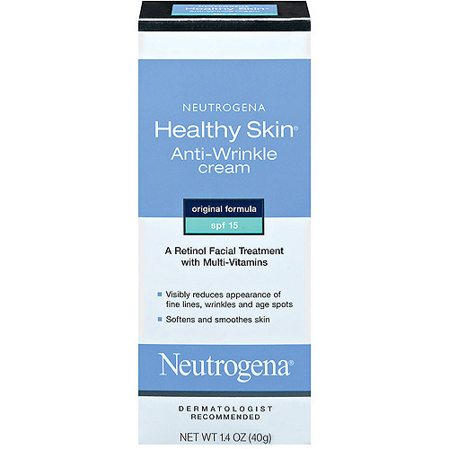Neutrogena Cream Original Formula, SPF 15 Healthy Skin Anti-Wrinkle, 1.4 oz
