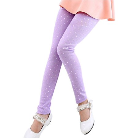 Leggings 2017 New Arrive Candy Dot Girls Leggings Toddler Classic Leggings 2-13Y Children Trousers Kids Leggings Girl Pants - Halloween Leggings Toddler