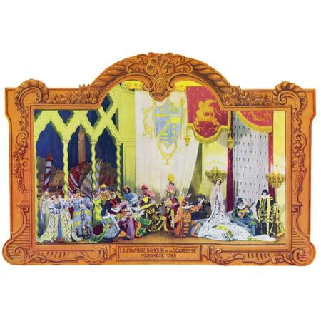 Tableau La Chambre Damour De La Dogaresse In La  Folie Dam Poster Print By Mary Evans  Jazz Age Club Collection