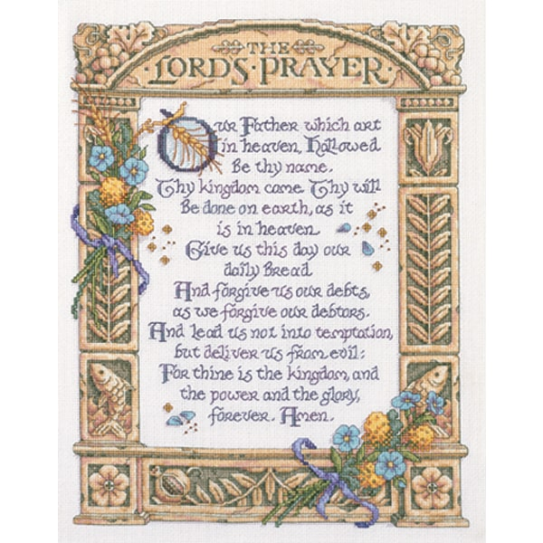 Janlynn 14 Count Portrait of Christ Counted Cross Stitch Kit 6-7//8 by 7-3//4-Inch