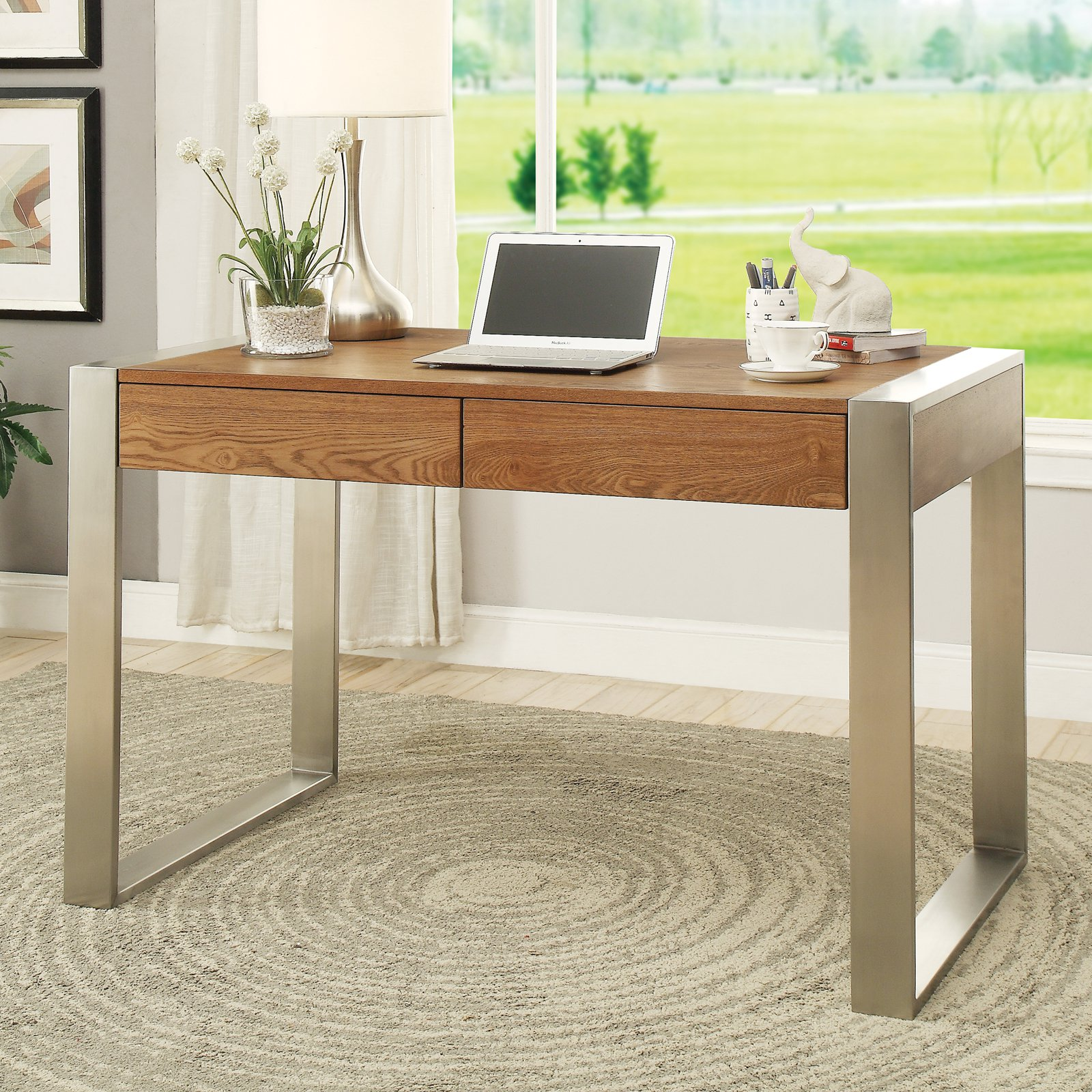Coast to Coast 2 Drawer Writing Desk