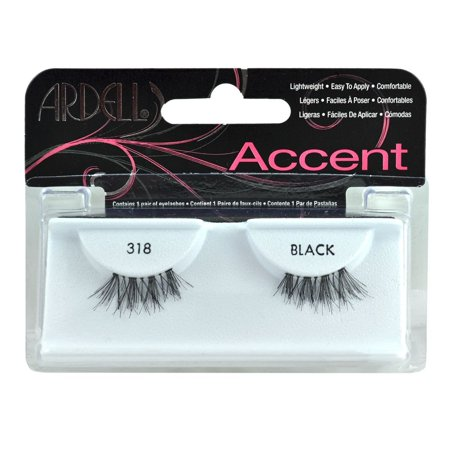 4 pack Fashion Eye Lash Accents 318 Black, Brand:Ardell By Ardell ()