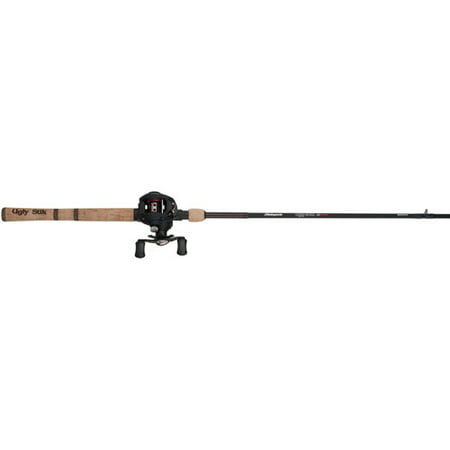 Shakespeare ugly stik elite low profile baitcast reel and for Best walmart fishing combo