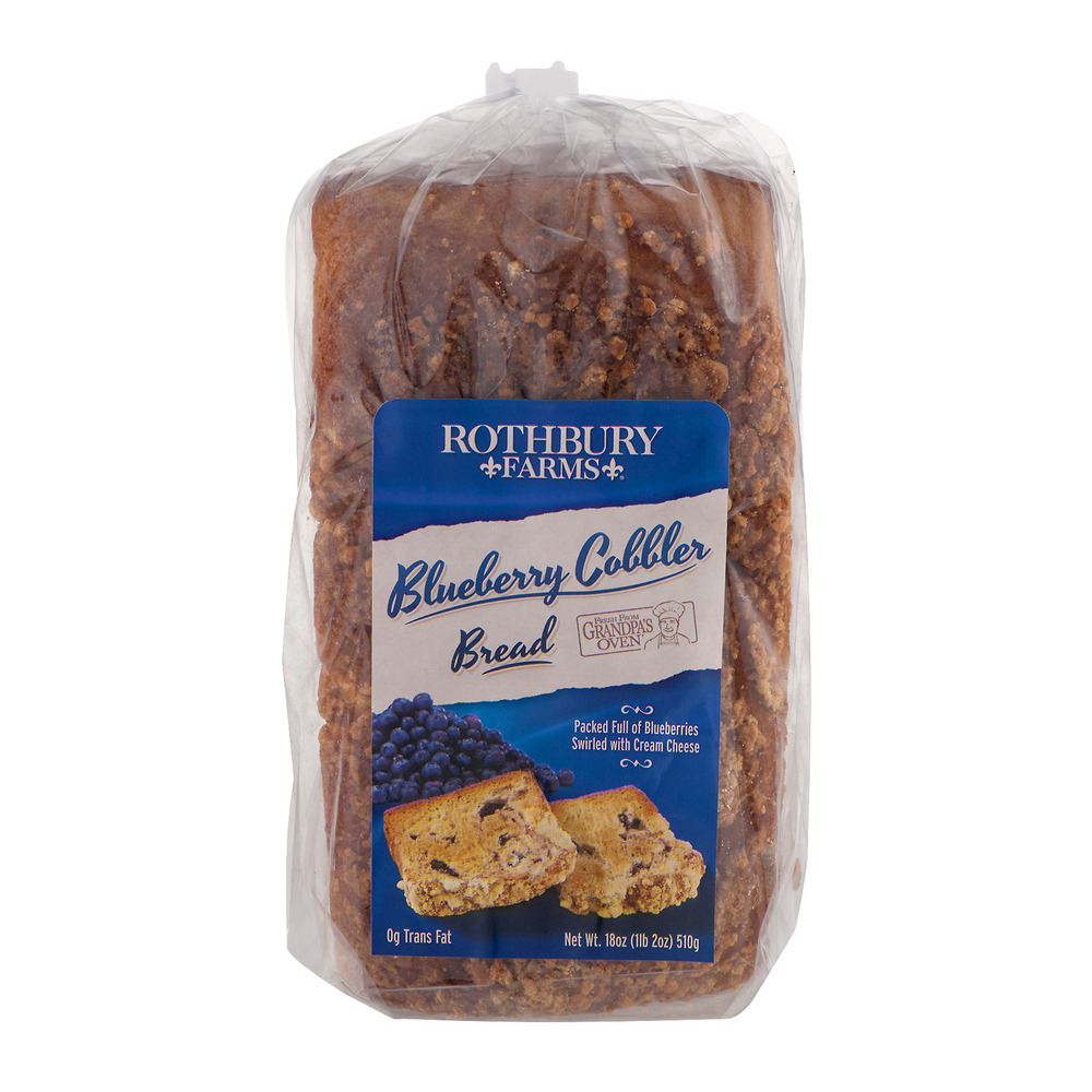 Rothbury Farms Grandpa's Oven Blueberry Cobbler Bread