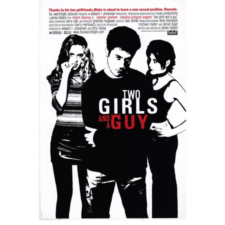 Two Girls and a Guy - movie POSTER (Style A) (27