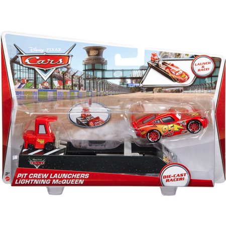 Disney Cars Diecast 1:55 Scale Disney Cars Launchers Lightning Mcqueen