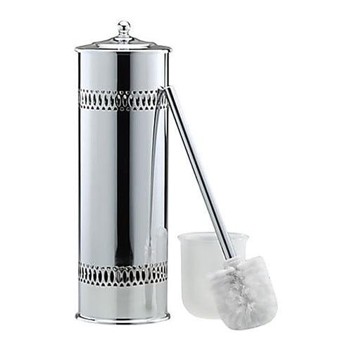 Wildon Home Tall Free Standing Toilet Brush and Holder