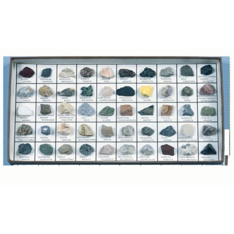 50 Rocks and Minerals of the U.S.A.