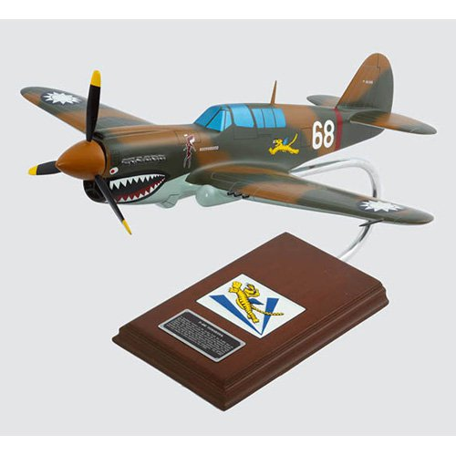 Daron Worldwide Curtiss P-40B Warhawk Model Airplane flown by Tex Hill by Toys and Models