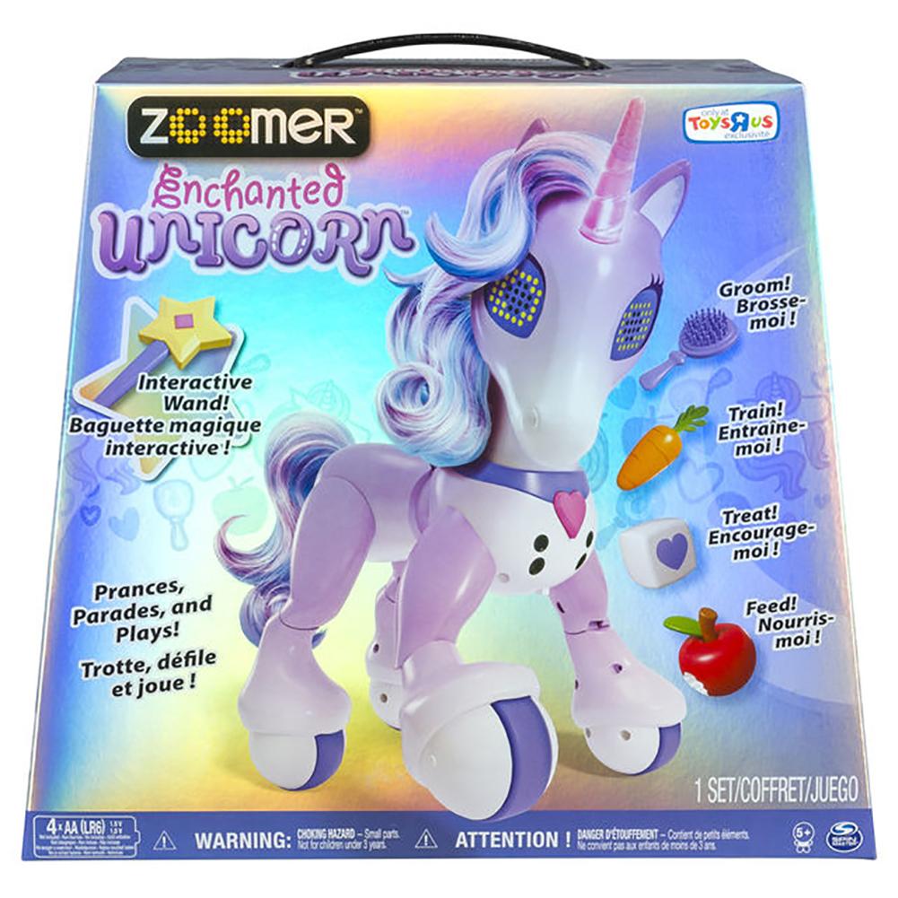 Zoomer Enchanted Unicorn Exclusive Interactive Toy Walmart Com