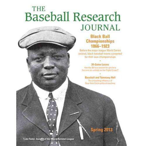 The Baseball Research Journal, Volume 42 #1