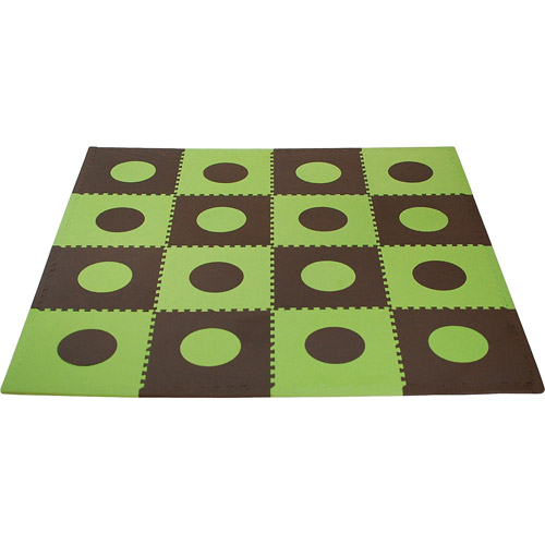 Seed Sprout - Playmat Set, Green/Brown