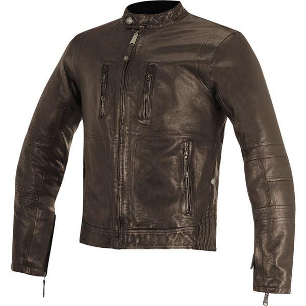 Alpinestars Oscar Brass Leather Jacket