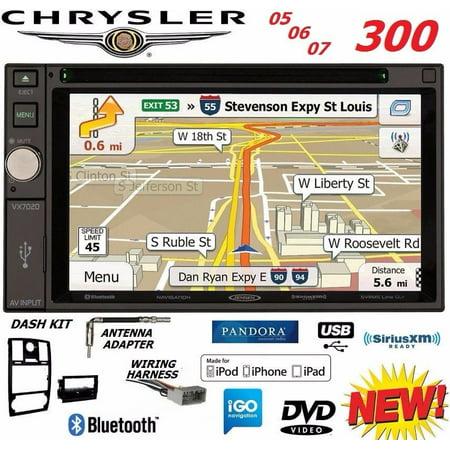 Colorado 300 Gps (05 06 07 CHRYSLER 300 300C JENSEN GPS NAVIGATION Radio Stereo OPTIONAL SIRIUSXM )