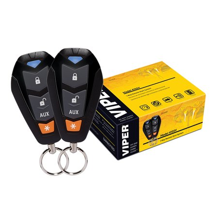 Viper Remote Starter/Keyless entry Two 4-Button remotes 1500 Ft Range (Viper Remote Start Remote Only)