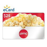 AMC Theatres $25 Gift Card (Email Delivery)