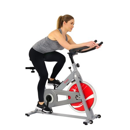 Sunny Health & Fitness SF-B1001S Indoor Exercise Cycle Bike,