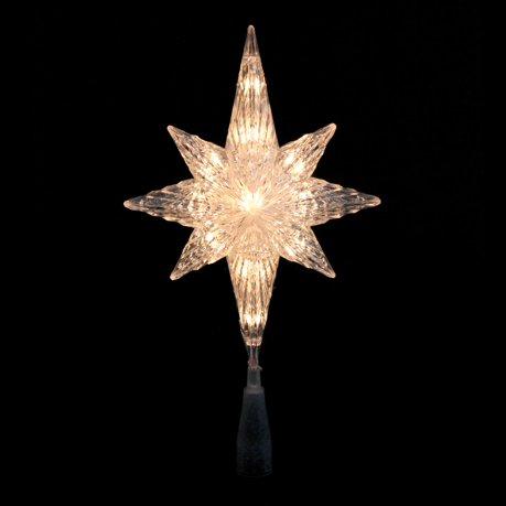 11 75 Quot Lighted Gold Glitter Star Of Bethlehem Christmas