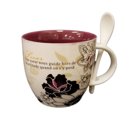 Soeur Cup and Spoon Set - image 1 of 1