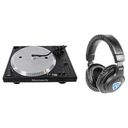Scratch Dj Turntable (Numark NTX1000 Professional High-Torque Direct Drive DJ Turntable+Headphones )