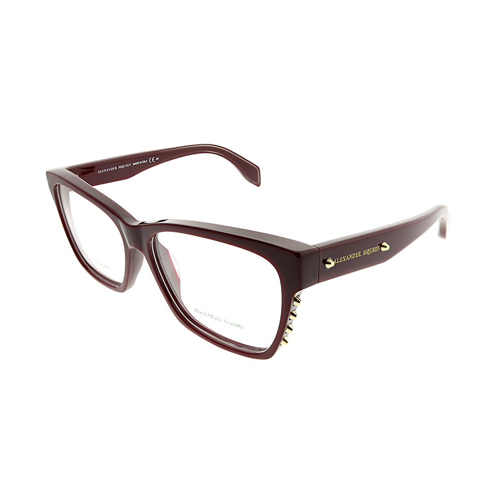 NEW ALEXANDER MCQUEEN SUNGLASSES AMQ 4193//S GREEN//BROWN K6H-DB AUTHENTIC