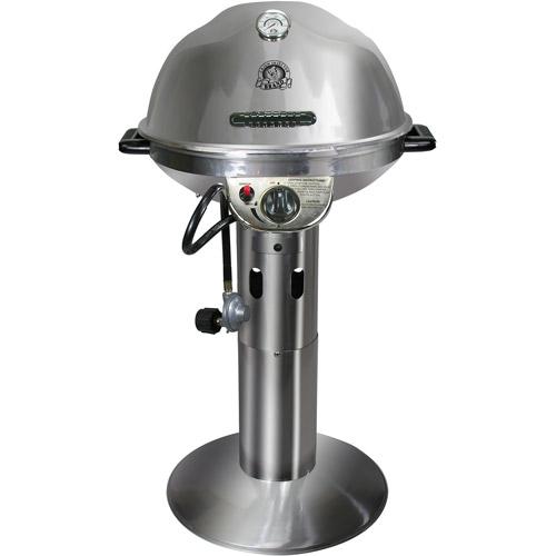 Cajun Injector Gas Pedestal Grill, 10,000 BTUs