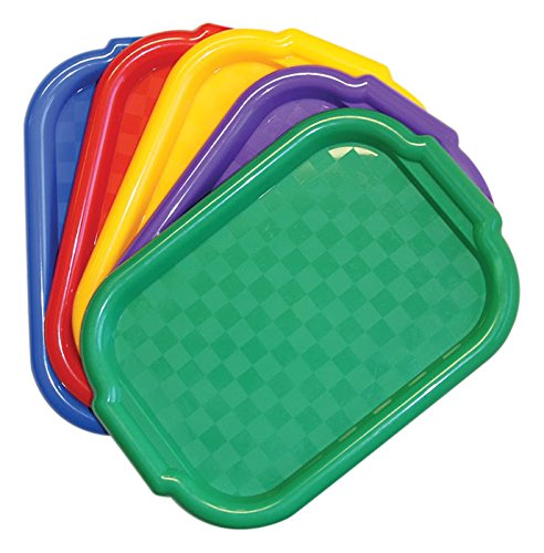 Jack Richeson 400995 Multi Color Art Trays (Set of 5)