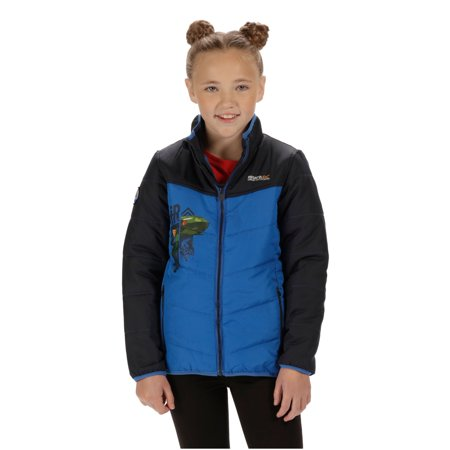 Regatta Thunderbirds Childrens/Kids Official Recharge Padded Waterproof Jacket - image 1 de 6