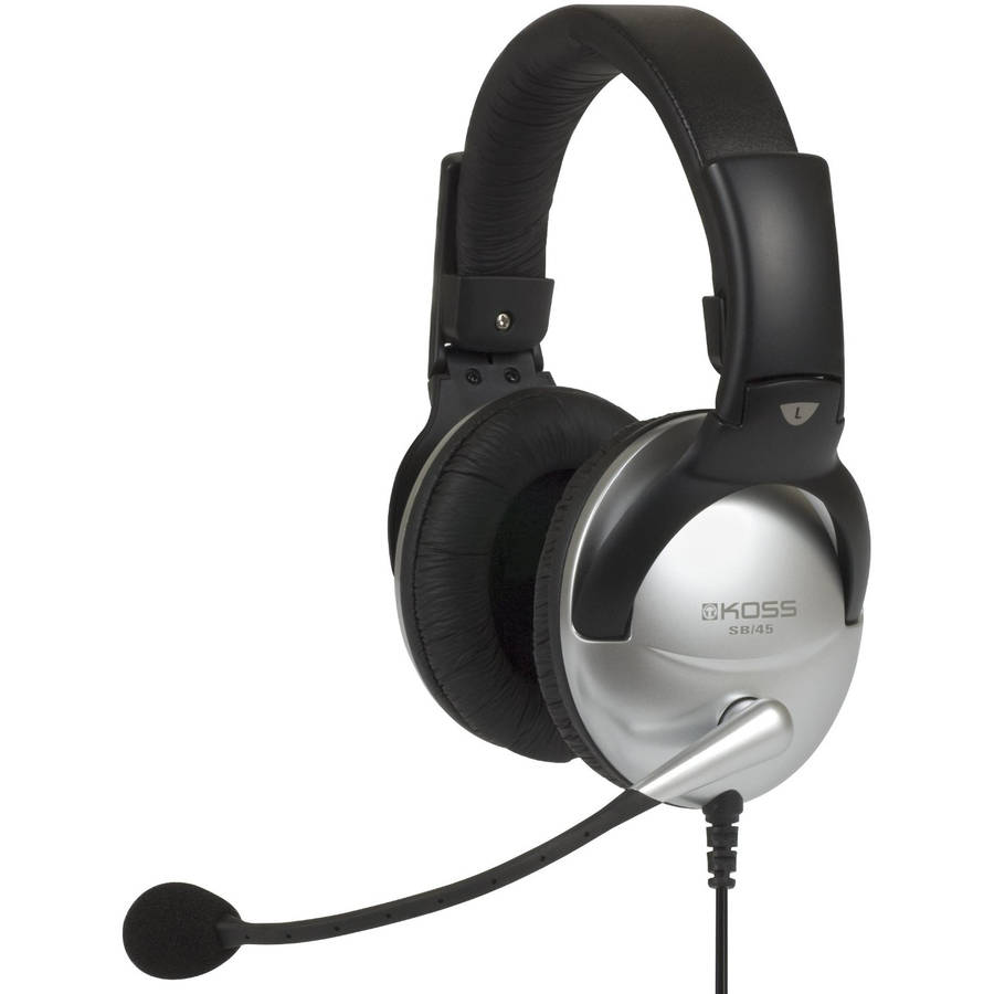 Koss SB49 Stereo Headset with Microphone