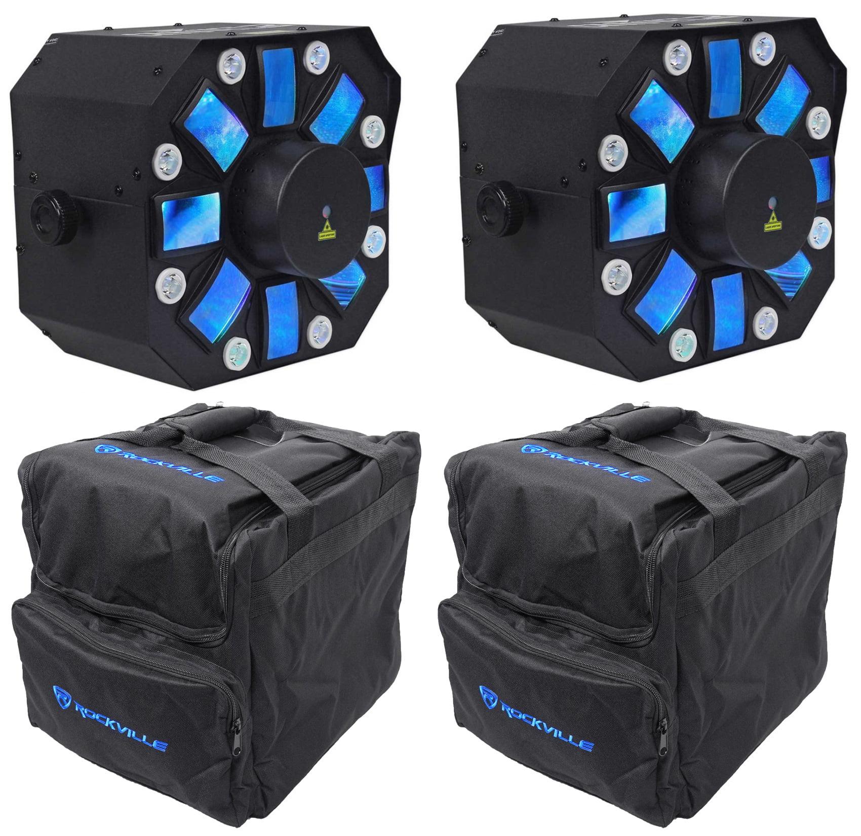2) Chauvet DJ Swarm 5 FX SWARM5FX Laser+Strobe+Rotating D...