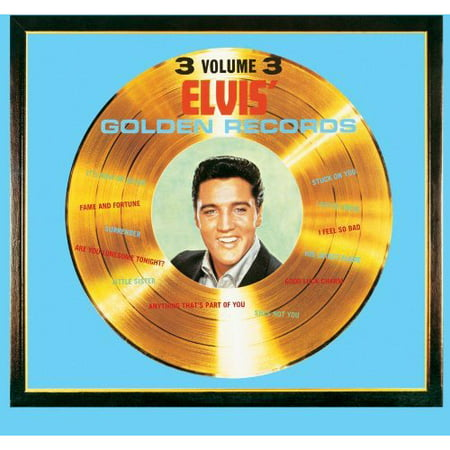 Elvis Golden Records 3 - Custom 45 Records