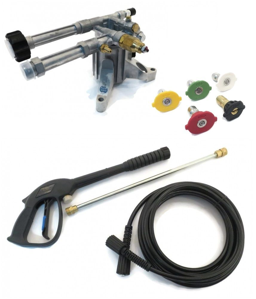 2400 psi AR PRESSURE WASHER PUMP & SPRAY KIT Karcher Generac Campbell Hausfeld by The ROP Shop by Annovi Reverberi