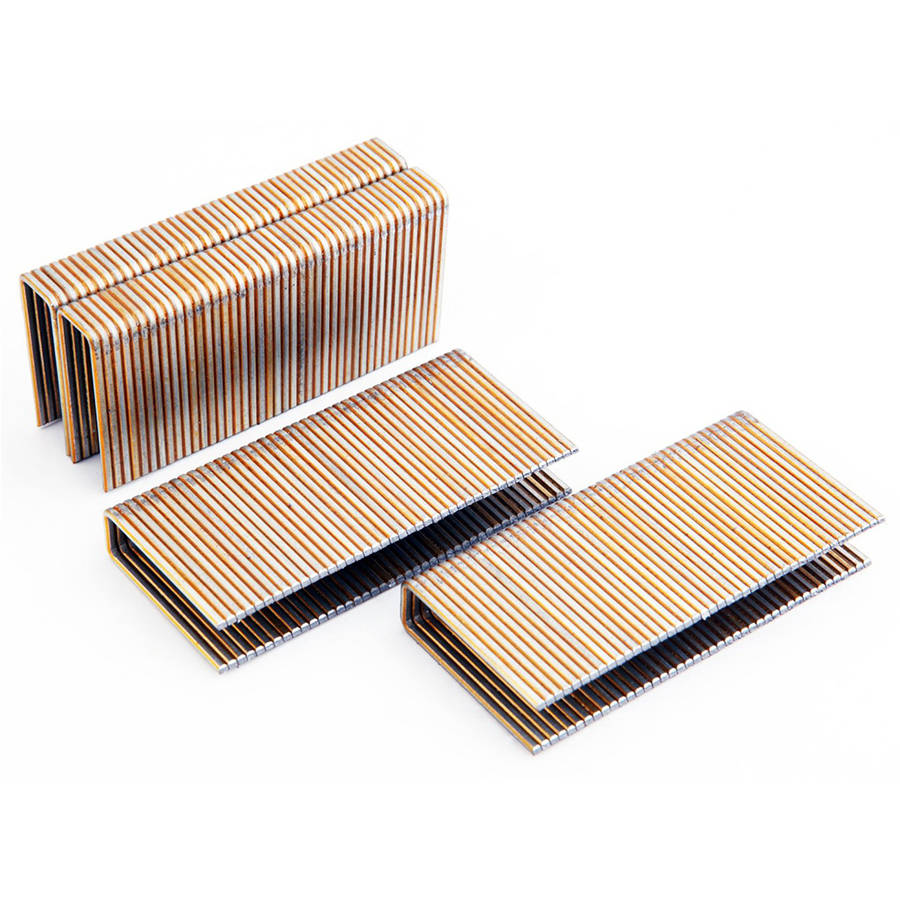 Freeman 1-1/2-Inch 15.5 GA Glue Collated Flooring Staples, 5000 Count