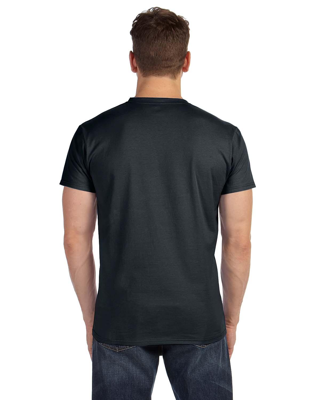 Black t shirt hanes - Black T Shirt Hanes 18