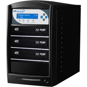 SHARKBLU BLU-RAY DVD CD USB 3.0 STAND-ALONE 1:3 DUPLICATOR HDD