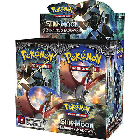 Pokemon TCG: Sun and Moon Burning Shadows Booster Trading