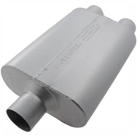 FLOWMASTER 9425400 Exhaust Muffler 40 Series 2. 50 inch Center Inlet