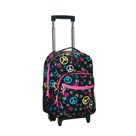 Rockland Luggage 17 Rolling Backpack ()