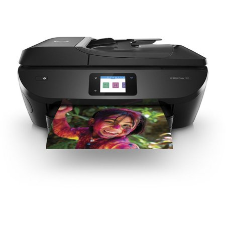 HP ENVY Photo 7855 All in One Photo Printer with Wireless Printing, Instant Ink ready (K7R96A) (Renewed) ()
